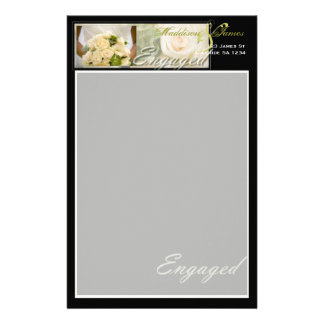 Bouquet Inspired Customized Stationery