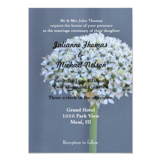 "Bouquet 5"" X 7"" Invitation Card"