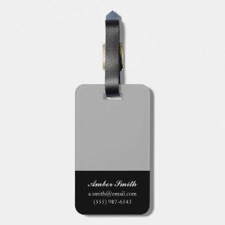 Bouquet Luggage Tag