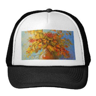 Bouquet of autumn cap