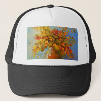 Bouquet of autumn trucker hat