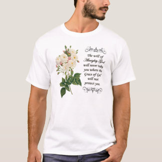 Bouquet of Beautiful White Roses Shirt