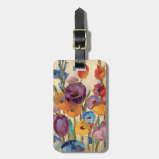 Bouquet of Colorful Flowers Luggage Tag