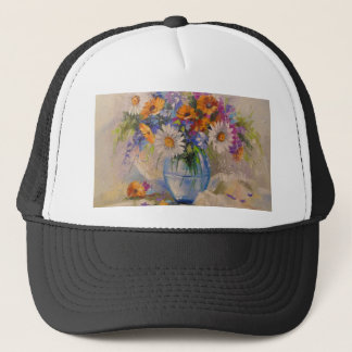 Bouquet of field trucker hat