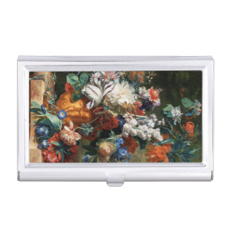 Bouquet of Flowers business card holder