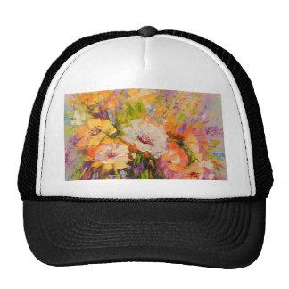 Bouquet of flowers cap