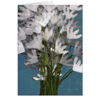 Bouquet of Flowers Stationery Note Card