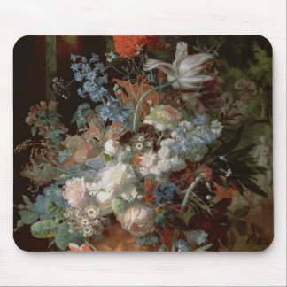 Bouquet of Flowers in a Landscape Mouse Pad