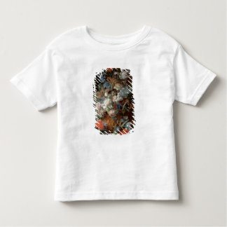 Bouquet of Flowers in a Landscape Toddler T-Shirt