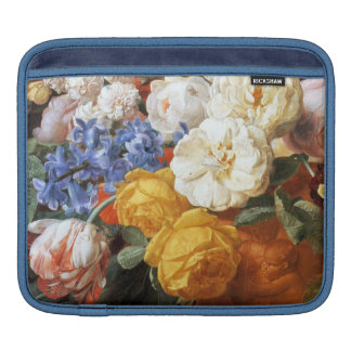 Bouquet of Flowers in a Sculpted Vase Fine Art Sleeves For iPads