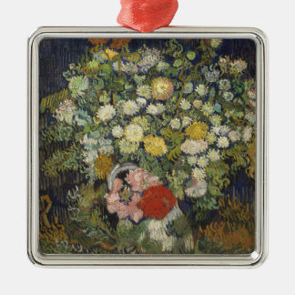 Bouquet of Flowers in a Vase Christmas Ornament