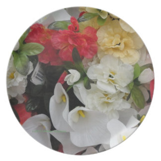 BOUQUET OF FLOWERS PLATE
