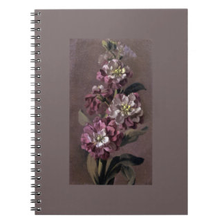 Bouquet of Gilly Flowers Notebook