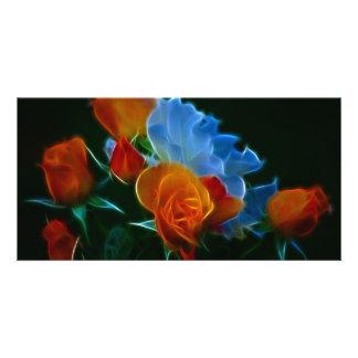 Bouquet Of Joy Photo Card