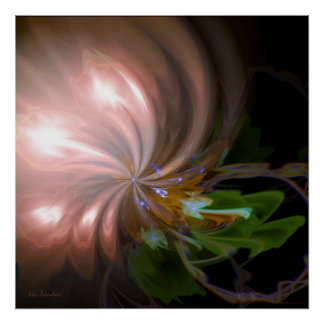 Bouquet of Lights Poster