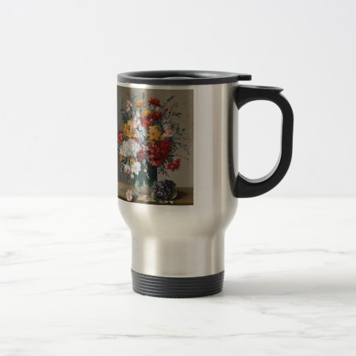 Bouquet of paw Gee of flower and violet Coffee Mug