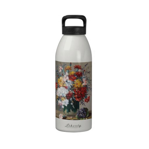 Bouquet of paw Gee of flower and violet Water Bottle