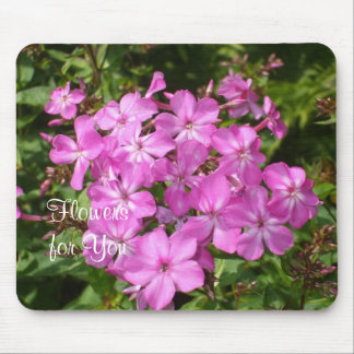 Bouquet of  Pink Flowers-Easter Mouse Mat