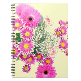Bouquet of Pink Flowers Notebooks