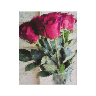 Bouquet of Roses Canvas