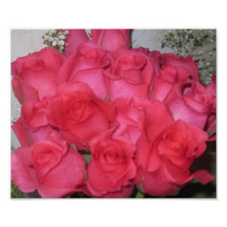 BOUQUET OF ROSES PRINT