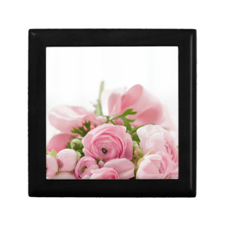 Bouquet of Roses Small Square Gift Box