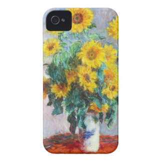 Bouquet of Sunflowers, 1880 Claude Monet iPhone 4 Cases