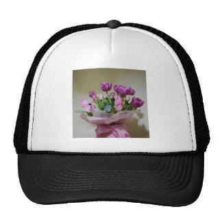 Bouquet of Tulips Mesh Hat