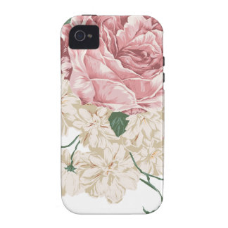 Bouquet of White and Pink Roses Vibe iPhone 4 Cover