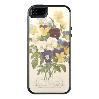 Bouquet Pansy Pansies Flower Illustration OtterBox iPhone 5/5s/SE Case