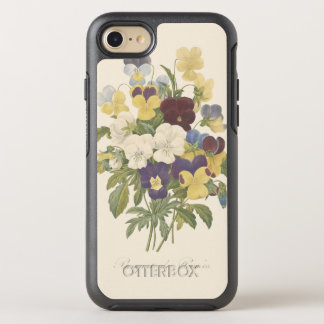 Bouquet Pansy Pansies Flower Illustration OtterBox Symmetry iPhone 7 Case