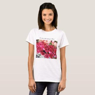 Bouquet Roses T-Shirt
