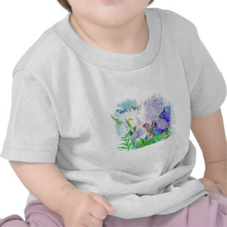 Bouquet with iris and flowers tee shirt