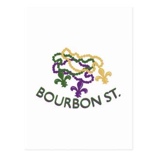 Bourbon Beads Postcard