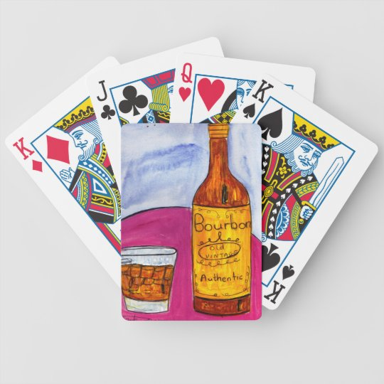 Bourbon Bicycle Playing Cards