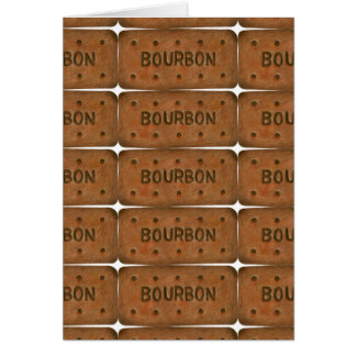 Bourbon Biscuit Greetings Card