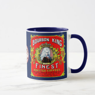 Bourbon King Finest Roasted Coffees Mug