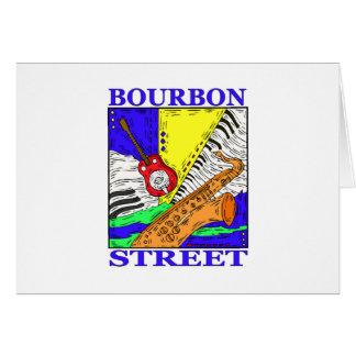 Bourbon Street Greeting Card