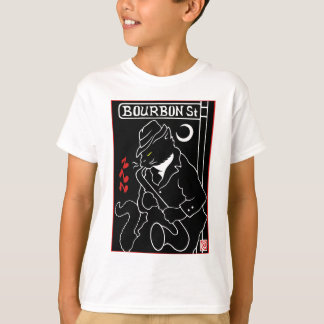 Bourbon Street Cat T-Shirt