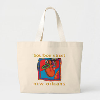 Bourbon Street New Orleans Tote Bags