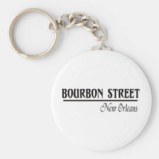 Bourbon Street New Orleans Key Ring