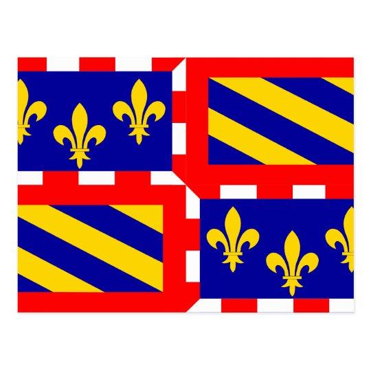 Bourgogne, France Postcard