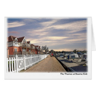 Bourne End greeting card