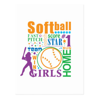 Bourne Softball Postcard