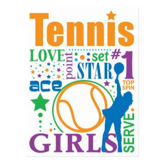 Bourne Tennis Postcard
