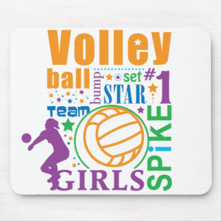 Bourne Volleyball Mouse Mat
