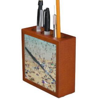 Bournemouth Beach UK Pencil Holder