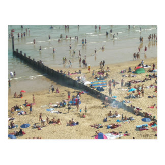 Bournemouth Beach UK Postcard