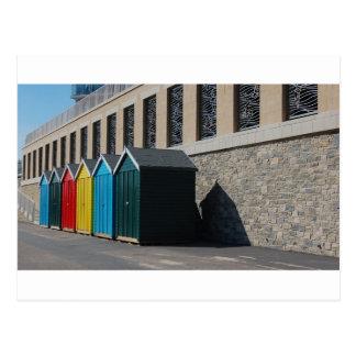 Bournemouth Beachhuts Post Cards