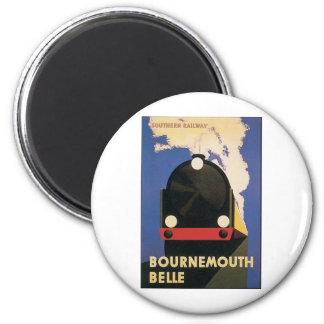 Bournemouth Belle Fridge Magnets